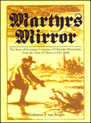 Martyr's Mirror Grace and Truth Books