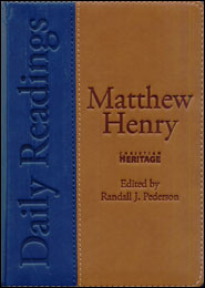 Matthew Henry Daily Readings Grace and Truth Books