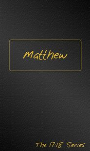 Matthew (Journible) Grace and Truth Books