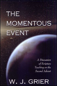 The Momentous Event Grace and Truth Books