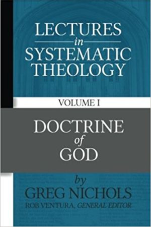 Doctrine of God Nichols book cover