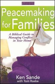 Peacemaking for Families Grace and Truth Books