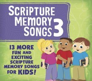 Scripture Memory Songs 3 CD cover