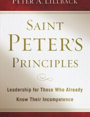 Saint Peters Principles book cover