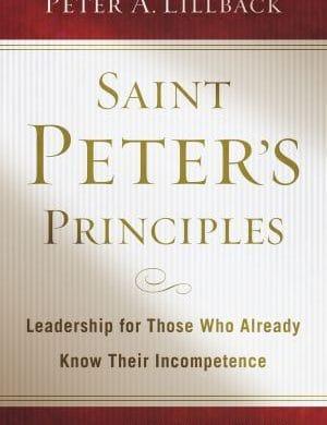 Saint Peters Principles book cover