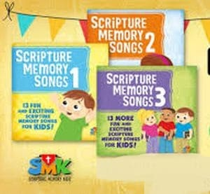Scripture Memory Songs 3 volumes image