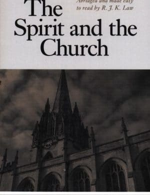 The Spirit and the Church book cover