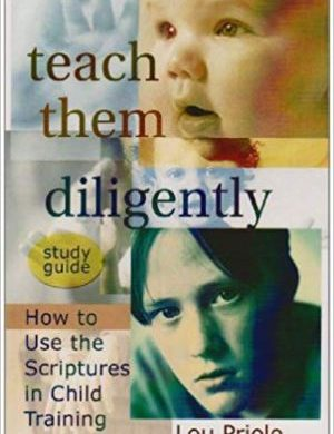 Teach Them Diligently Study Guide book cover