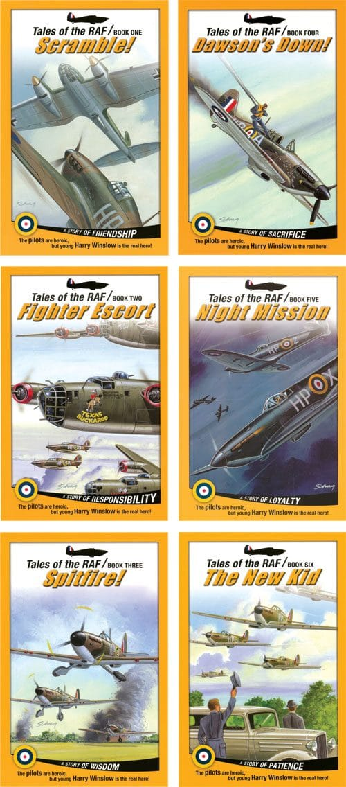 Tales of the RAF 6 vol set image