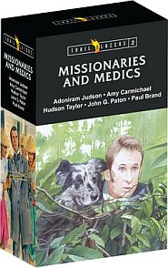 Trailblazers Missionaries & Medics Set Grace and Truth Books