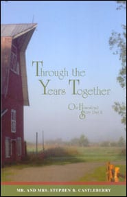 Through the Years Together Grace and Truth Books