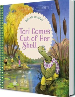 Tori Comes Out of Her Shell book cover