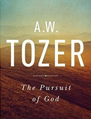 The Pursuit of God Tozer book cover