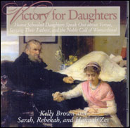 Victory for Daughters CD cover Grace and Truth Books