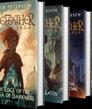 The Wingfeather Saga 4 volume set covers