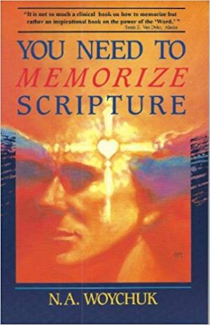 You Need to Memorize Scripture book cover