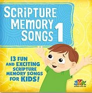 Scripture Memory Songs 1 - for Kids Grace and Truth Books