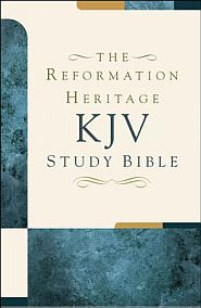 The Reformation Heritage KJV Study Bible Grace and Truth Books