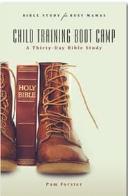 Child Training Boot Camp Grace and Truth Books