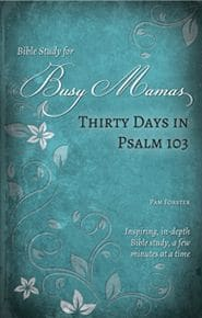 Thirty Days in Psalm 103 Bible Study for Busy Mamas Grace and Truth Books