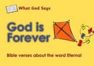 What God Says: God is Forever Grace and Truth Books