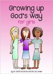 Growing Up God's Way for Girls book cover