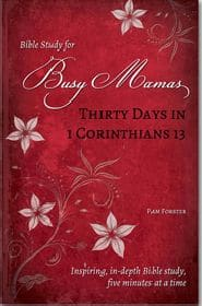 Thirty Days in 1 Corinthians 13 Bible Study for Busy Mamas Grace and Truth Books