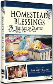 Homestead Blessings: The Art of Crafting Grace and Truth Books
