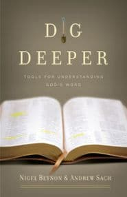 Dig Deeper Grace and Truth Books