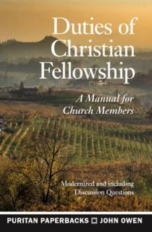 Duties of Christian Fellowship book cover