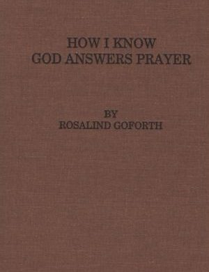 How I Know God Answers Prayer book cover