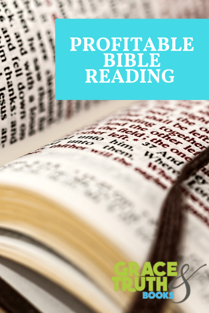 Profitable Bible Reading
